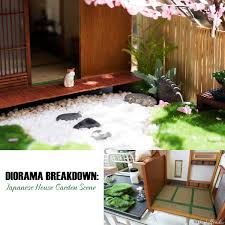 Diorama Breakdown How To Make A Japanese Style Garden Kixkillradio