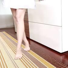 bathroom accessories antirutsch badematte braun weiss gelb