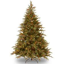 Artificial Fraser Fir Christmas Tree Sale by Fraser 6 U0027 Green Artificial Christmas Tree With 800 Led Multi