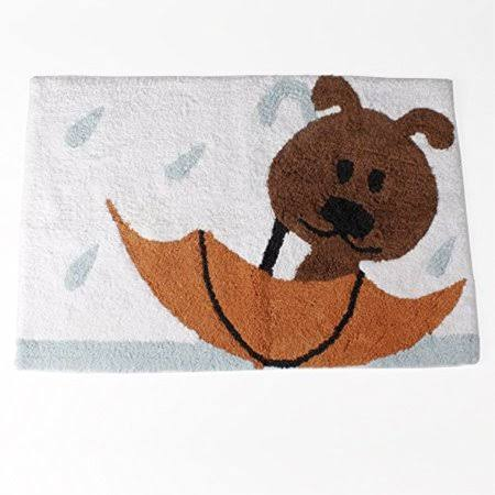 Saturday Knight Raining Cats and Dogs Bath Rug