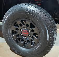 TRD PRO Wheel 16x7 +13 PT758-35170-02   Tacoma Town Online