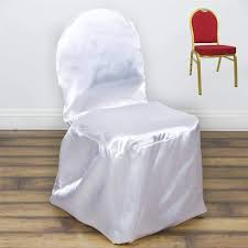 Efavormart 50pcs White Shinny Satin Banquet Chair Covers Dinning Event  Slipcover For Wedding Party Banquet Catering Us 429 New Year Party Decorations Santa Hat Chair Covers Cover Chairs Tables Chafing Dish And Garden Krush Linen Detroit Mi Equipment Rental Wedding Party Chair Covers Cheap Chicago 1 Rentals Of Chicago 30pcslot Organza 18 X 275cm Style Universal Cover For Sale Made In China Cute Children Cartoon Pattern Frozen Baby Birthday