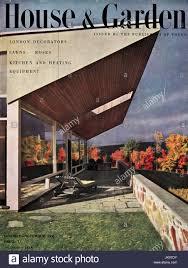 100 Houses Magazine Online 1950s Original Old Vintage House Garden Magazine Cover For October