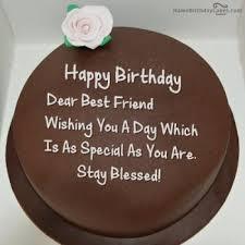 View HD chocolate birthday cake wishes
