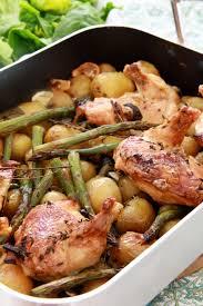 cuisiner des pommes de terre nouvelles on dine chez nanou un plat bien convivial poulet roti au vin