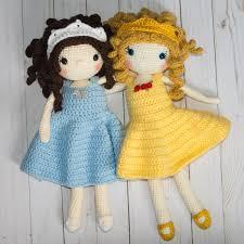 Crochet Princess Doll Pattern Thefriendlyredfoxcom