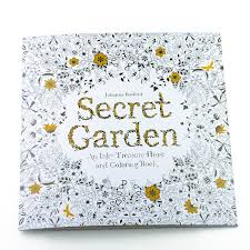 Adult Coloring Book Secret Garden 24 Pages Stress Reliver Time Killer