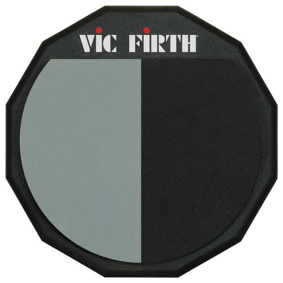 Vic Firth Single Sided Divided Drum Practice Pad - 12""