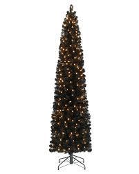 6ft Black Christmas Tree Pre Lit by Black Christmas Tree 6ft Christmas Lights Decoration