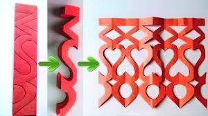 Easy Paper Cutting Craft Design