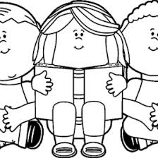 Kids Reading We Coloring Page Wecoloringpage Adult