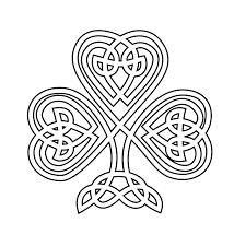 Cool Celtic Knot Shamrock Coloring Pages Contemporary Example For Decorations 10
