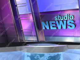 News Virtual Set Studio