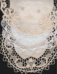 Battenburg Lace Curtains Ecru by Diy Supply Vintage Handmade Lace And Embroidered Doilies Medium