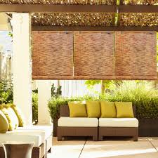 Outdoor Shades For Patio by Corded Installation Mounting Hardware Bamboo Shades U0026 Natural