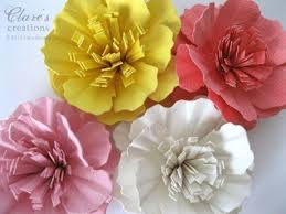 Construction Paper Flowers Ideas DIY Projects Craft How Tos