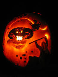 Minion Pumpkin Carving Tutorial by Lotr Balrog Pumpkin So Epic Geek Pinterest Lotr Pumpkin