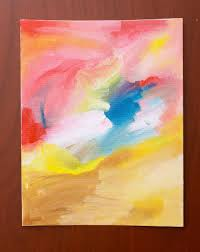 Easy Abstract Painting Anyone Can Do I Still Need Some Wall Art For My Daughters