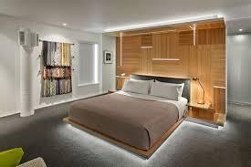 indirekte beleuchtung schlafzimmer led leisten idee