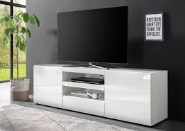 lowboard nizza 176cm tv board weiß hochglanz schrank modern