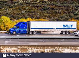 100 Martinez Trucking Dec 8 2019 Los Angeles CA USA Marten Transport Truck