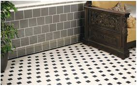 Black And White Victorian Floor Tile Vintage Flooring Bathroom Retro Kitchen