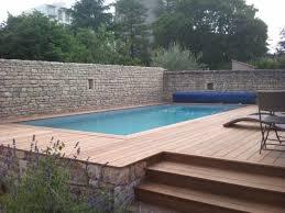 les plus belles photos de piscines bois hors sol semi enterre ou