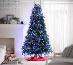 Pre Lit Christmas Tree Rotating Stand by Santa U0027s Best 9 U0027 Starry Light Microlight Christmas Tree W Flip Leds