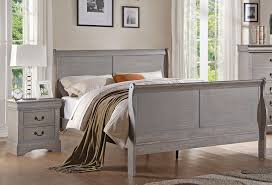louis philippe antique grey bedroom furniture