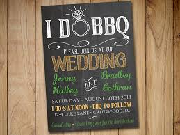 I DO BBQ Wedding Invitation Template Download