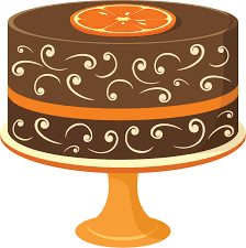 Carrot Cake Clip Art Ideas Medium size