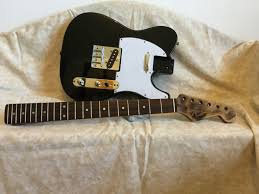Telecaster Guitar Body And Relic Stratocaster Neck
