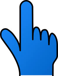 Pointing Finger Without Shade Clip Art at Clker vector clip
