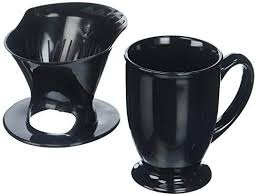 Melitta Coffee Maker Single Cup Pour Over Brewer With Travel Mug Pack Of 2