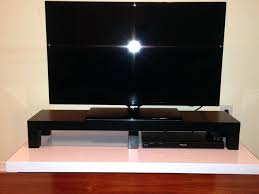Monitor Stands For Desk by Tv Stand Tv Stand Riser Height Adjustable Monitor Desk Smart