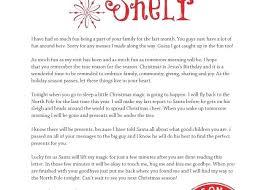 Elf The Shelf Wel e Back Letter Elf The Shelf Wel e