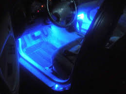 Floor Led Lighting. Feature: Car Interior Decorative Lights Floor ...