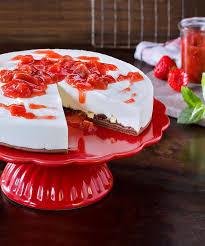 american cheesecake mit schoko pizza boden