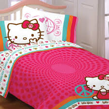 Hello Kitty Bed Set Twin by Bedroom Luxury Bed Decor Ideas With Awesome Marimekko Bedding