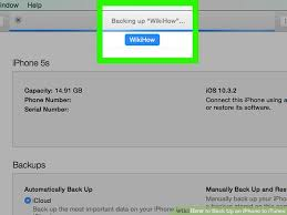 How to Back Up an iPhone to iTunes with wikiHow
