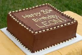 leon s birthday cake