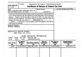 IRS Lien Release in as little as 30 90 days Specialty IRS