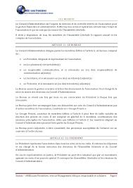 bureau conseil d administration statuts association emba sans frontières embasf