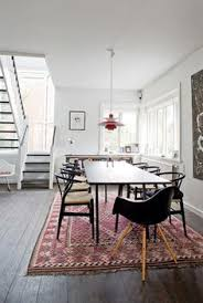 Again White Backdrop Modern Furniture Persian Rug Very Nice Under Dining TableDining