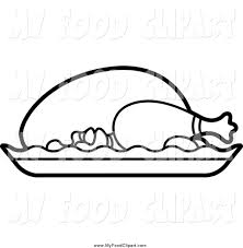 Food Coloring Clipart Black And White