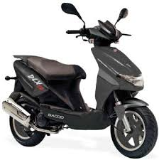 Baccio Dlx 50cc Gas Scooters For Sale MOJO Power Sports Sells