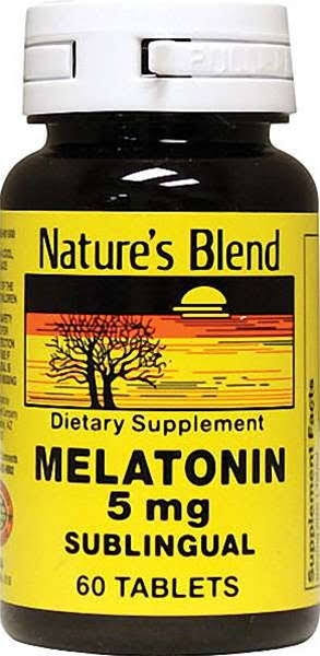 Nature's Blend Melatonin - 5mg, 60 Tablets