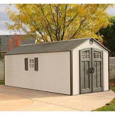 lifetime 8 x 20 outdoor storage shed sam s club