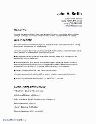 Format Of Making A Resume Best Fresh Blank Templats Unique Formatted 0d