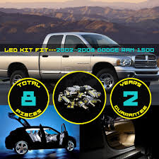 8x Car Truck Interior LED Kit Dome Map Reading License Plate Light ...